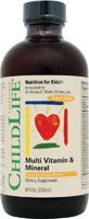 Childlife Multi Vitamin and Mineral Natural Orange Mango