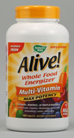 Nature's Way Alive Multi-Vitamin No Added Iron
